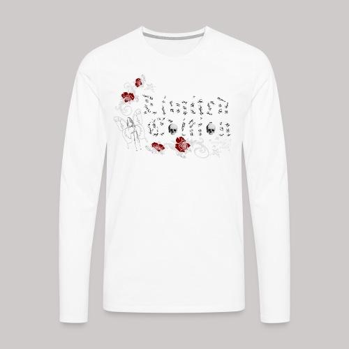simply wild limited edition on black - Männer Premium Langarmshirt