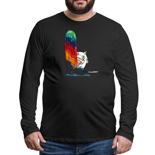 NOR 0001 00 ice ice baby - Männer Premium Langarmshirt