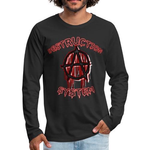 anarchy - T-shirt manches longues Premium Homme