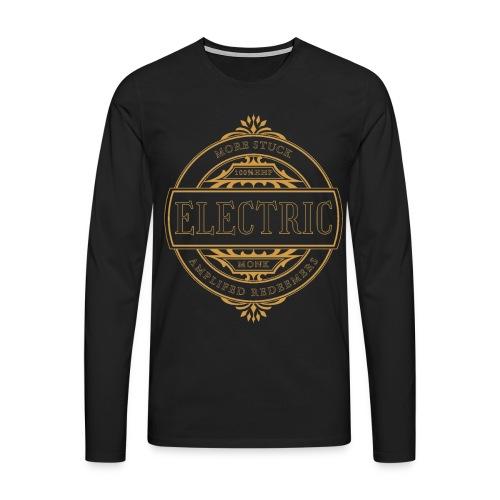 ELECTRIC MONK - Männer Premium Langarmshirt