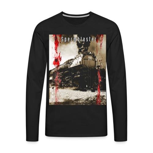spermblaster big train - Men's Premium Longsleeve Shirt