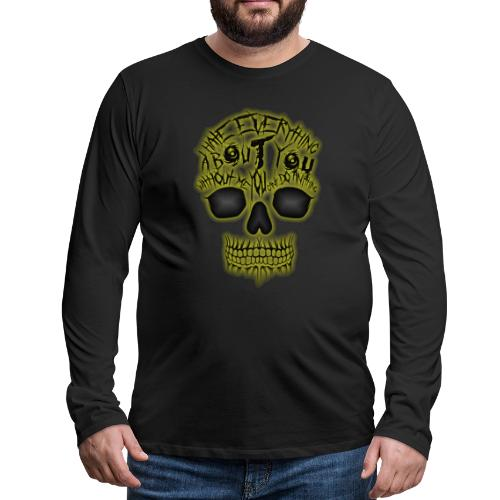 Hate everything - T-shirt manches longues Premium Homme