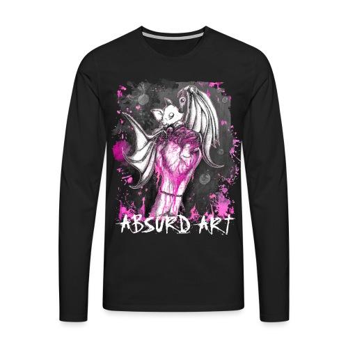 Seifenblasen Pink, von Absurd ART - Männer Premium Langarmshirt