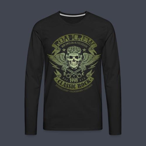 altes-zeuch-army - Männer Premium Langarmshirt