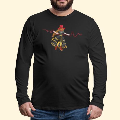 Ladybird - La célèbre uchronaute - T-shirt manches longues Premium Homme