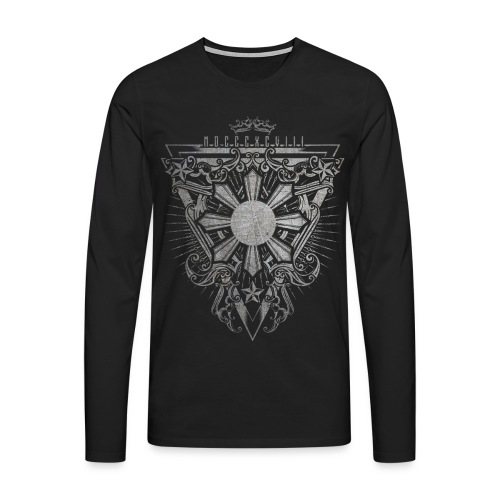 PHL0015 Gray - Men's Premium Longsleeve Shirt