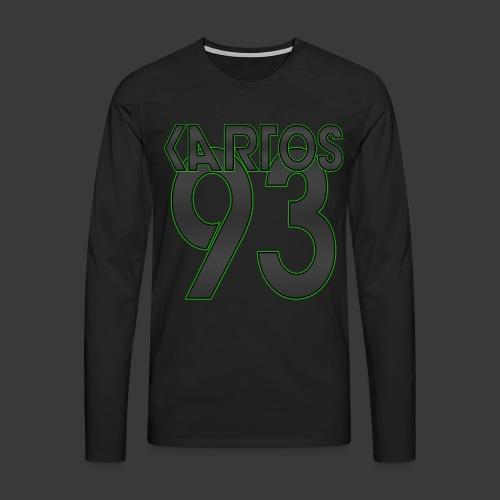 KarToS_Logo - Männer Premium Langarmshirt