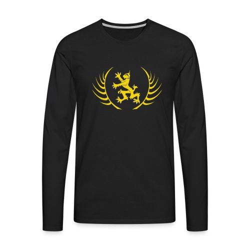 Schola Logo T Shirt transparent png - Men's Premium Longsleeve Shirt