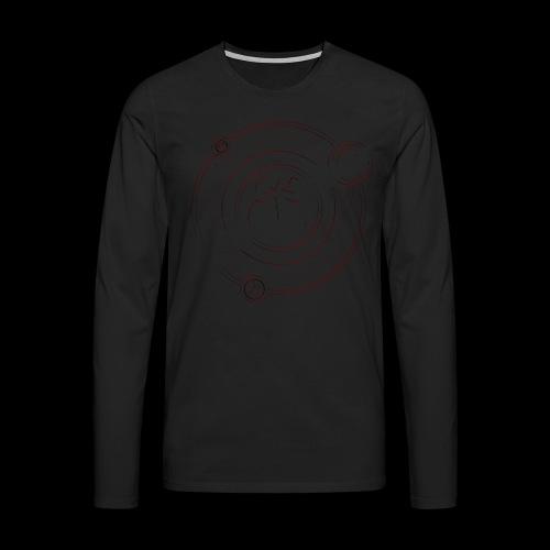 darkness shirt red png - Men's Premium Longsleeve Shirt