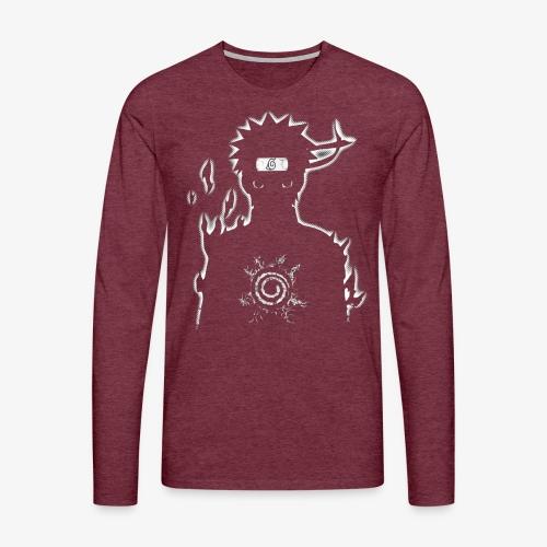 9 Tails Seal - Men's Premium Longsleeve Shirt