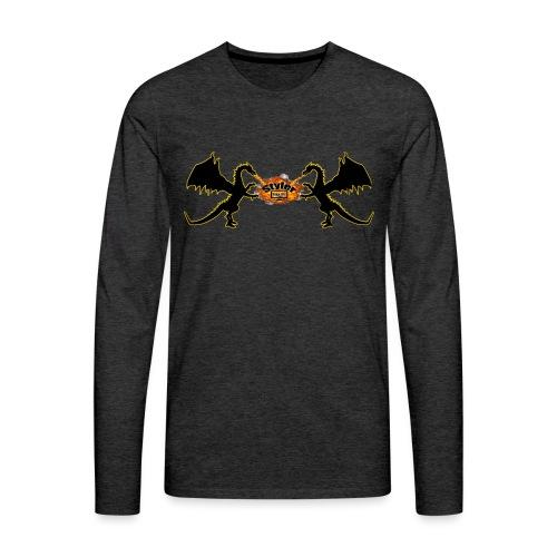 Styler Draken Design - Mannen Premium shirt met lange mouwen