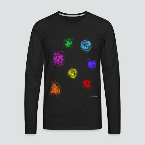 Farben png - Männer Premium Langarmshirt