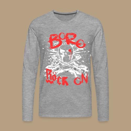 RöckOnRed - Männer Premium Langarmshirt