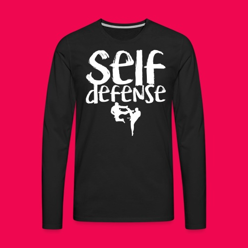 Self Defense 1.0 - Männer Premium Langarmshirt