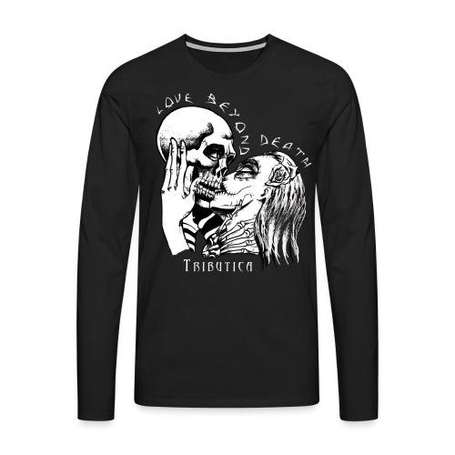 Love Black - Männer Premium Langarmshirt