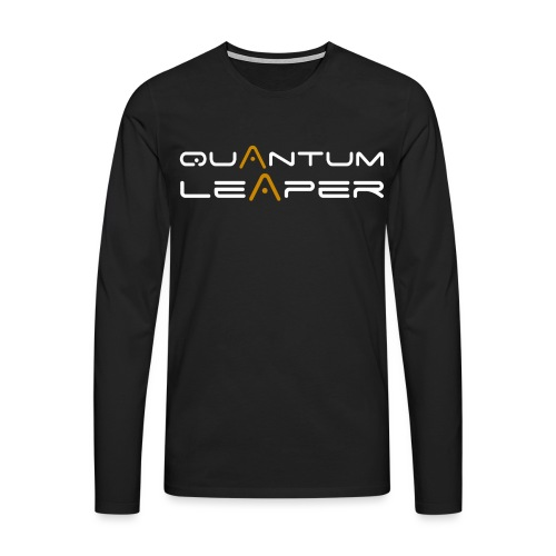 Quantum Leaper White - Men's Premium Longsleeve Shirt