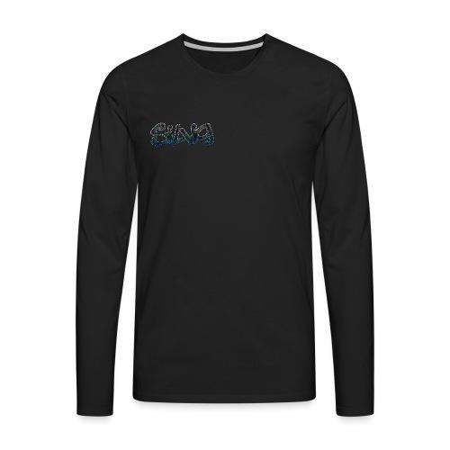 SilViG logo limited - Herre premium T-shirt med lange ærmer