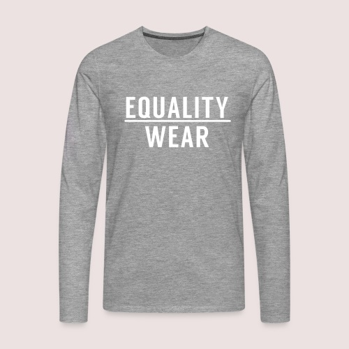 Equality Wear Official Pattern - Men's Premium Longsleeve Shirt