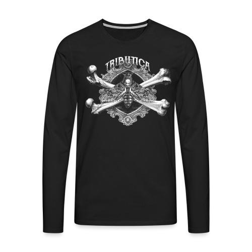 Acherontia Atropos by Tributica® - Männer Premium Langarmshirt