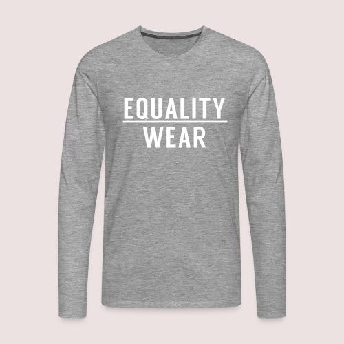 Equality Wear Official Pattern - Men's Premium Longsleeve Shirt