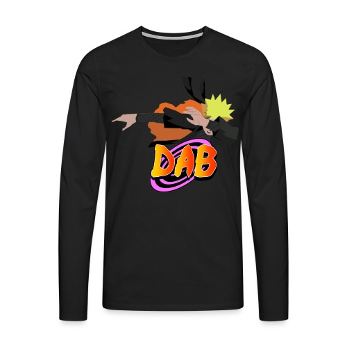Dabbin on them H*** - Mannen Premium shirt met lange mouwen