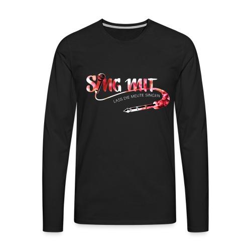 SingMit - Männer Premium Langarmshirt
