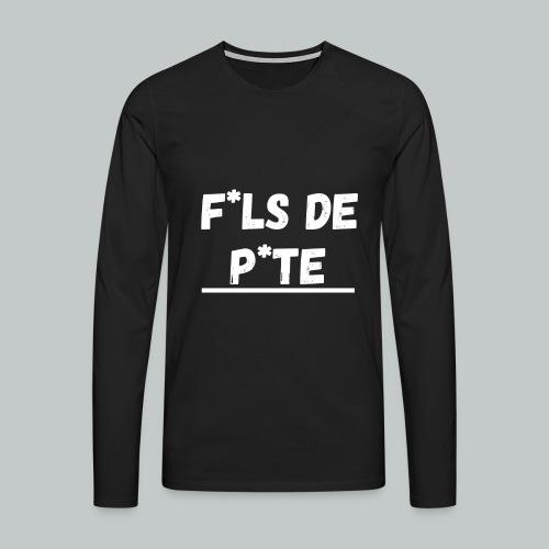 fdp2 png - T-shirt manches longues Premium Homme