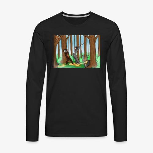 BEERTJEEE - Mannen Premium shirt met lange mouwen