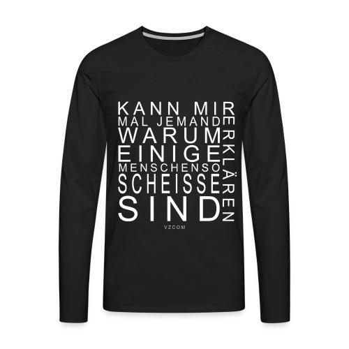 vzcom2 - Männer Premium Langarmshirt
