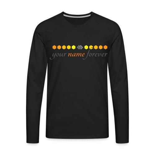 YourNameForever-Logo - Men's Premium Longsleeve Shirt