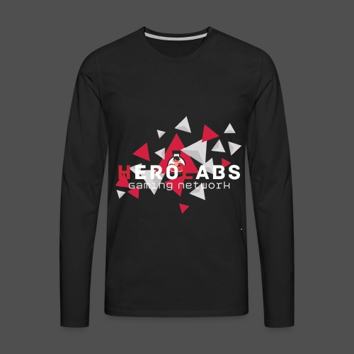 triangle_vector_3_4000x40 - Männer Premium Langarmshirt