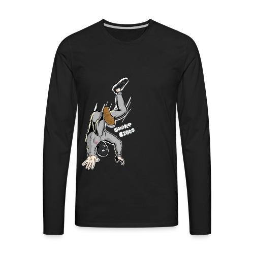 CiD gray - Men's Premium Longsleeve Shirt