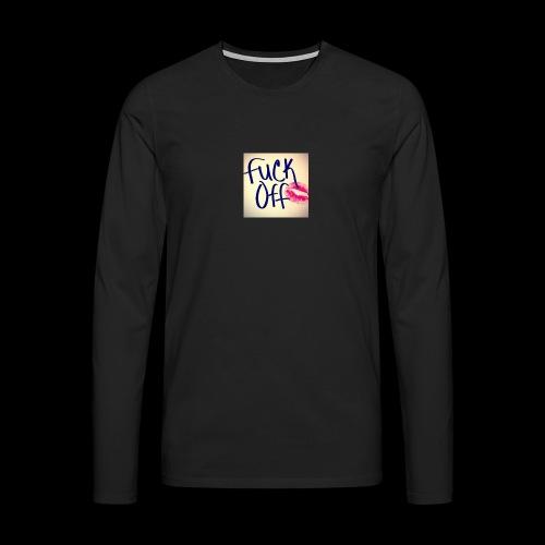 F... Off - Männer Premium Langarmshirt