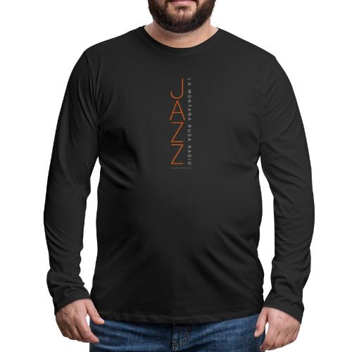 Jazz Tree - Camiseta de manga larga premium hombre