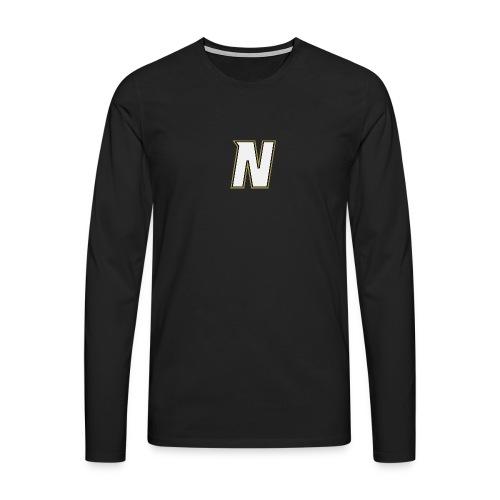 Nordic Steel WHITE N - Men's Premium Longsleeve Shirt