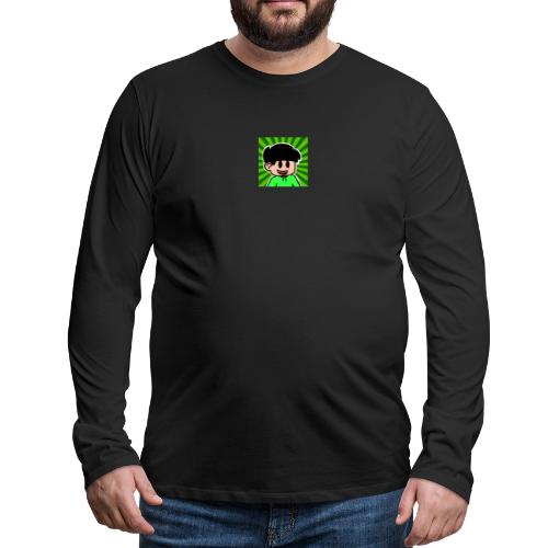 En Glad Linus - Långärmad premium-T-shirt herr