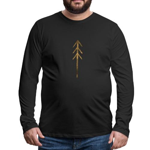 Fir - Icon - Men's Premium Longsleeve Shirt