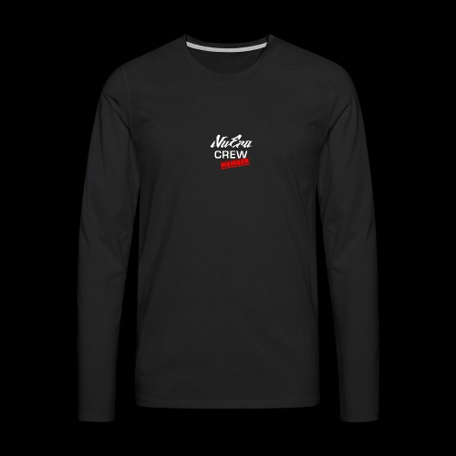NuEra Crew Logo 2018 - Männer Premium Langarmshirt