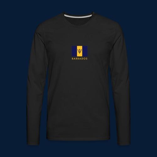 Barbados - Männer Premium Langarmshirt