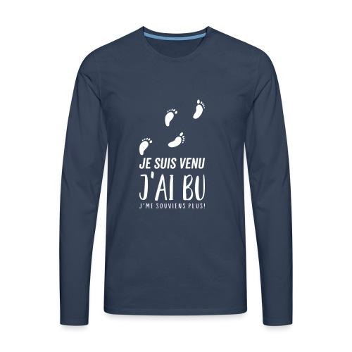 Tshirt Femme / homme - T-shirt manches longues Premium Homme