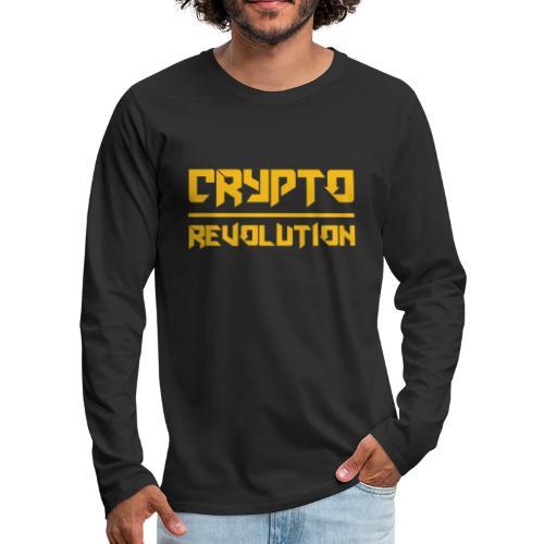 Crypto Revolution III - Men's Premium Longsleeve Shirt