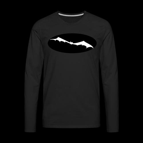 Fledermaus - Männer Premium Langarmshirt
