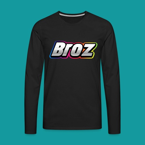 Broz - Mannen Premium shirt met lange mouwen