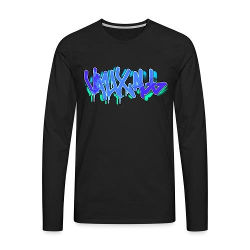Graffiti | BLUE - Men's Premium Longsleeve Shirt