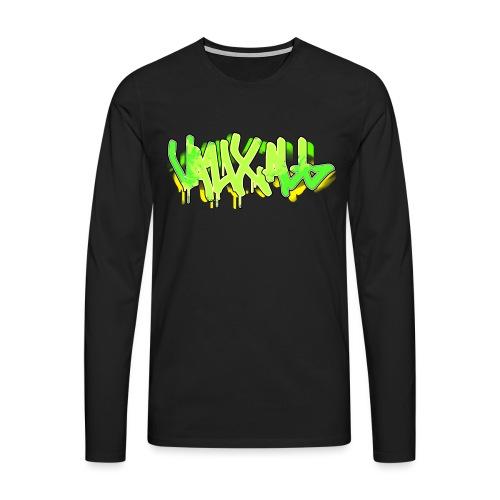 Graffiti | GREEN - Men's Premium Longsleeve Shirt
