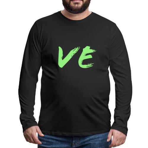 Love Paare Partnershirt Partnerlook Partnerdesign - Männer Premium Langarmshirt