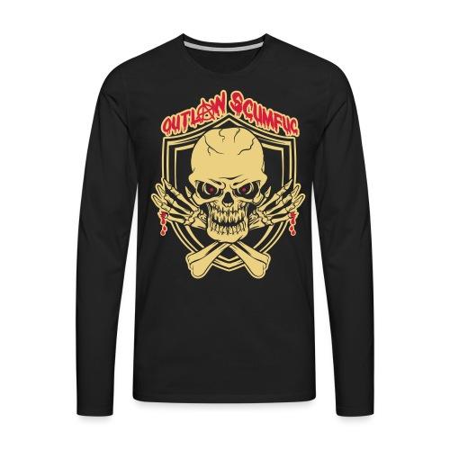 Outlaw Scumfuc - Männer Premium Langarmshirt