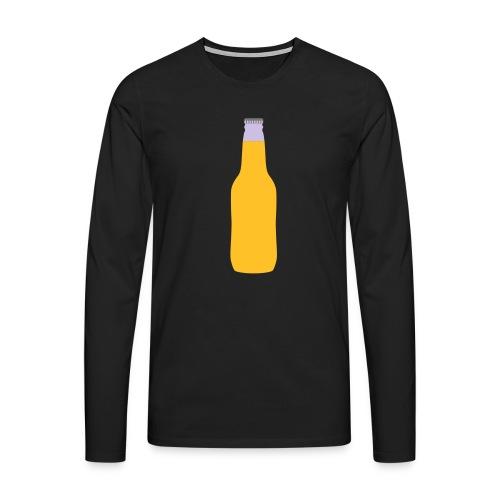 Bierflasche - Männer Premium Langarmshirt