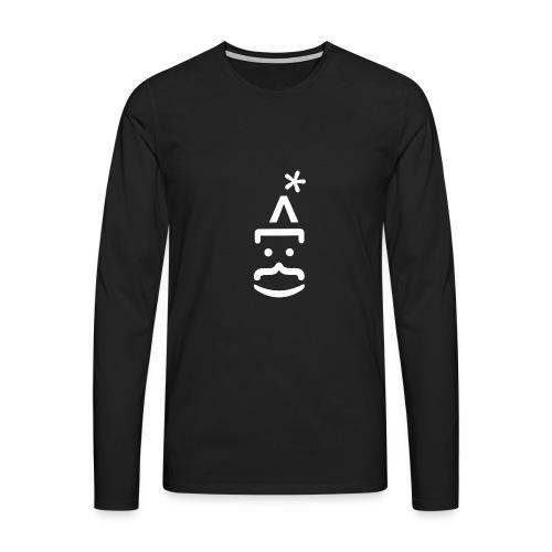 WEIHNACHTEN: WEIHNACHTSMANN - Männer Premium Langarmshirt