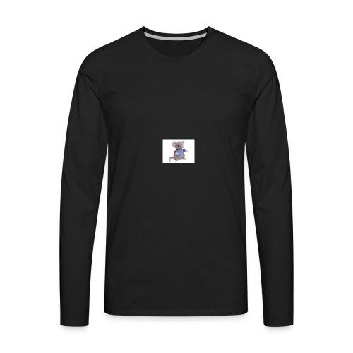 rotte - Herre premium T-shirt med lange ærmer